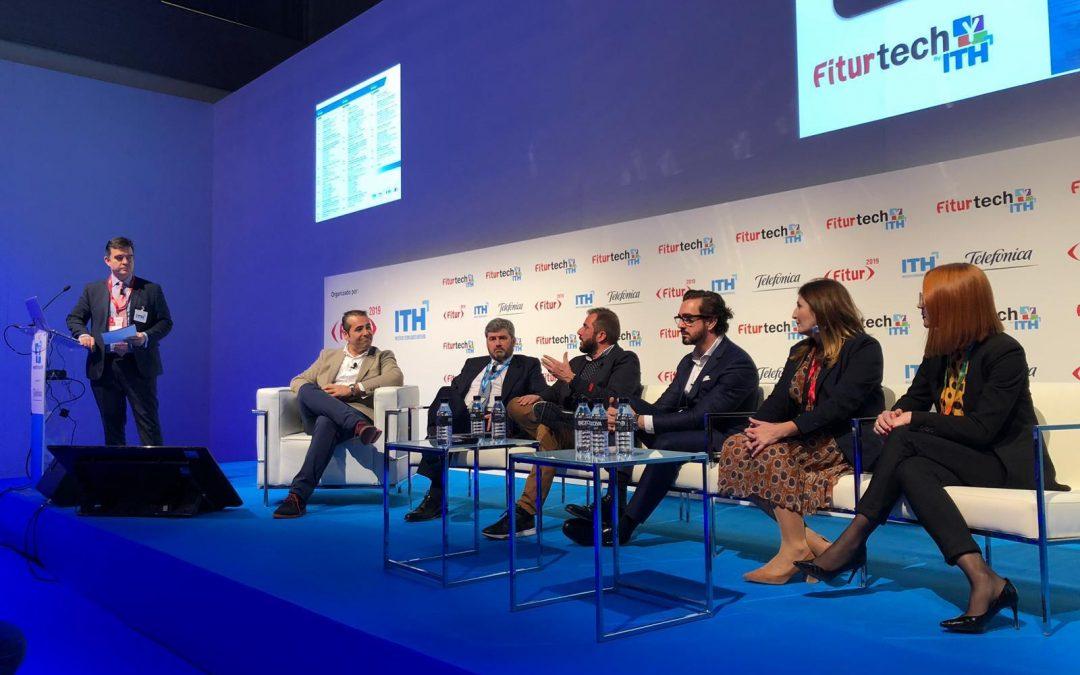 Cerium en la mesa redonda de FITUR 2019 sobre implantación tecnológica en el sector hotelero