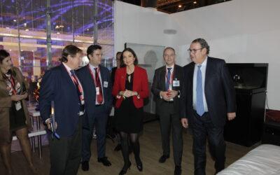 La ministra Maroto visitó la habitación tecnológica de FITUR 2019