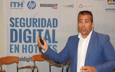 Intervenimos en una jornada del Instituto Tecnológico Hotelero sobre la seguridad digital en hoteles
