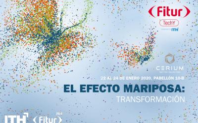 CERIUM, elegida por segundo año para participar en FITURTECHY 2020