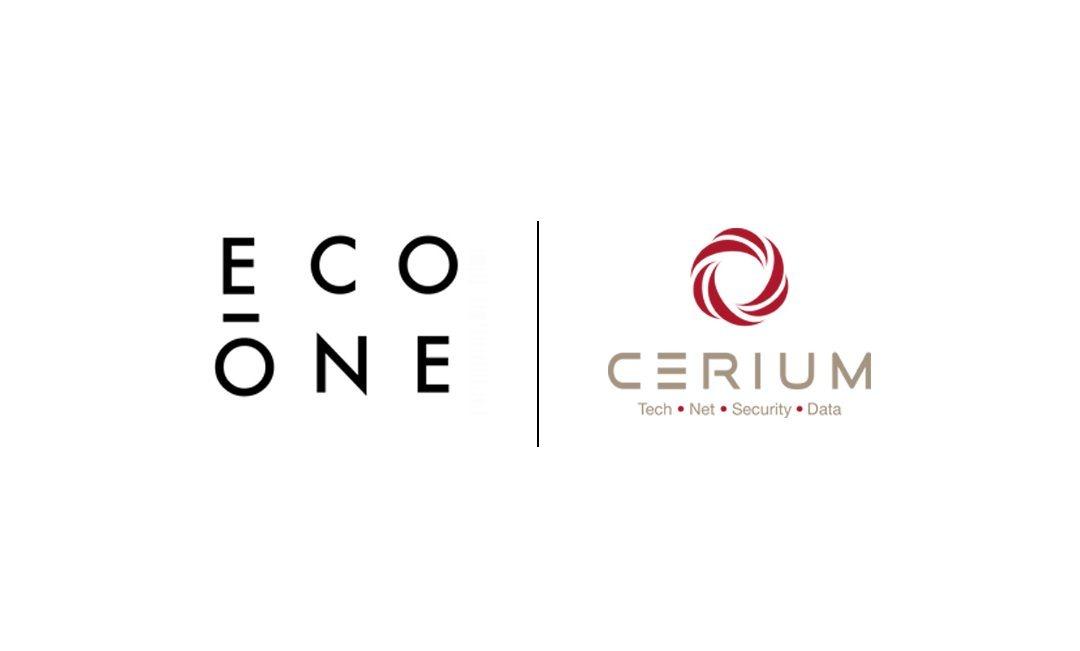 CERIUM cierra un acuerdo de colaboración con ECO-ONE en materia de sostenibilidad